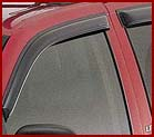 Genuine Chevrolet Side Window Air Deflectors